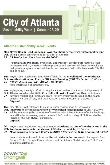 Atlanta Sustainability Week